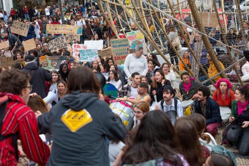 Manifestação em Lisboa da greve climática estudantil