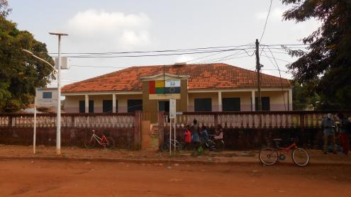 Escola Primária 1° de Junho em Canchungo, Guiné-Bissau. Novembro de 2017.