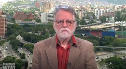 "Sociólogo venezuelano Edgardo Lander em entrevista a ""Democracy Now"""