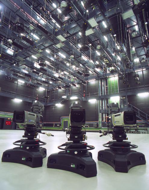 Estúdio 1 da sede da RTP em Lisboa. Foto via Flickr/RTP.