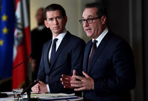 Áustria se torna único da Europa a ter extrema direita no poder