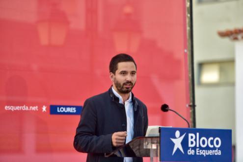 """""""Quem quer que seja a esquerda na sua pluralidade a governar, pode contar com o Bloco de Esquerda"""" afirmou Fabian Figueiredo"""