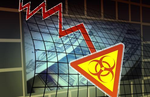 Crise económica na sequência da pandemia.