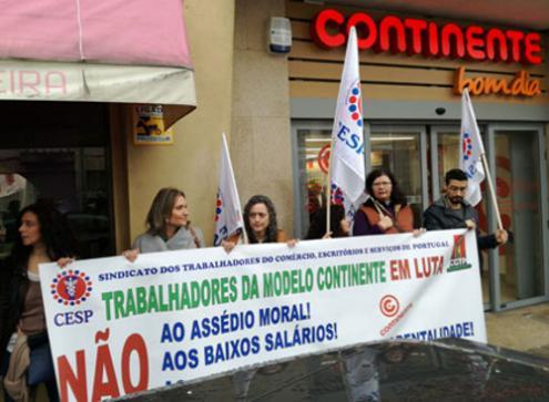 Trabalhadores da grande distribuição lutam por aumentos de salários, correção de injustiças e revisão do contrato coletivo de trabalho
