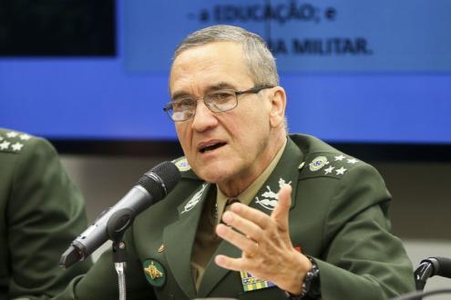 General Villas Bôas - comandante do exército brasileiro
