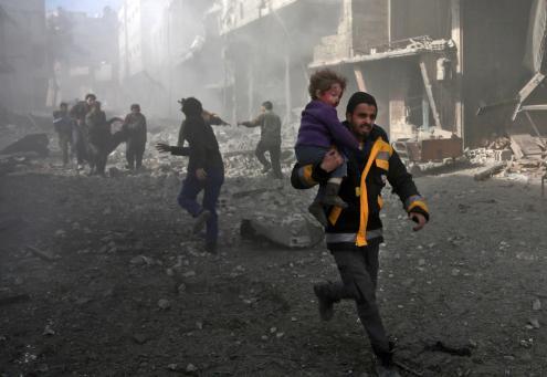 """Síria: """"Os civis estão a ser massacrados"""", afirma Alto Comissário da ONU"""