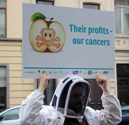 Protesto contra Glifosato