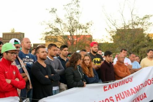 """Trabalhadores da Somincor cumprem, desde as 6h desta sexta-feira e até às 6h deste sábado, o terceiro período da terceira greve de 2017. Lutam pela """"humanização"""" dos horários de trabalho"""