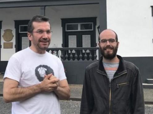 Paulino Ascenção e Ricardo Giestas. Fotos do site do Bloco de Esquerda da Madeira