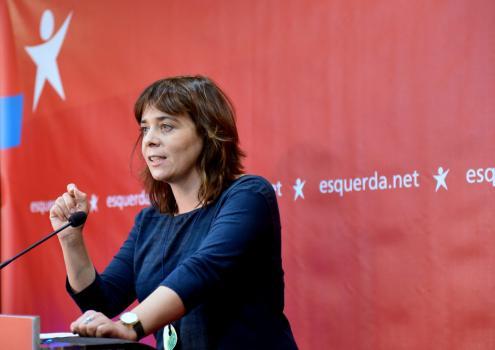 """""""Dinheiro nenhum nos salva das alterações climáticas"""", afirma Catarina Martins"""