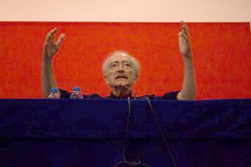 José Mário Branco (1942-2019) - Foto do Fórum Socialismo 2018