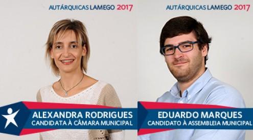 """Bloco quer dar """"novo fôlego"""" a Lamego com Alexandra Rodrigues"""
