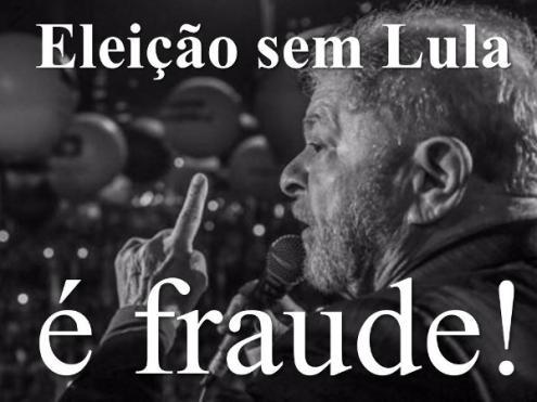 Lula está com 37% das intenções de voto e seria imbatível numa segunda volta