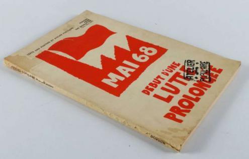 Cartaz: Maio 68 - Início de uma luta prolongada