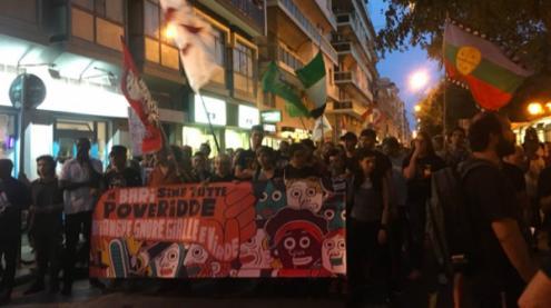 Eurodeputada italiana foi atacada por grupo fascista, após a realização de uma manifestação antifascista