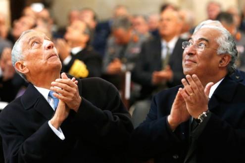 Marcelo e António Costa