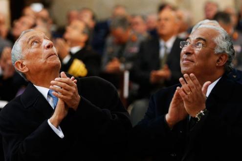 António Costa e Marcelo Rebelo de Sousa