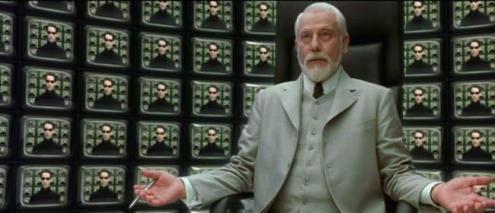 O Arquiteto, em Matrix Reloaded.