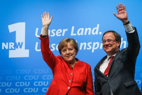 Partido de Merkel vence eleições em estado mais populoso da Alemanha
