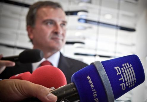 Entre 2011 e 2013, do programa do PSD e do memorando da Troika até à demissão de Relvas, a empresa viveu em rumo e cortes sucessivos. Foto de Mário Cruz, Lusa arquivo.