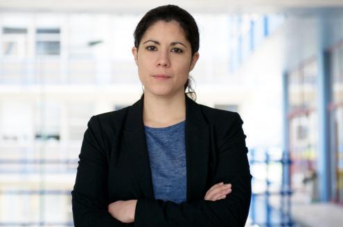 """Mariana Mortágua: """"O problema do sistema financeiro é bem mais grave e não pode ser resolvido apenas considerando que é um problema de Ricardo Salgado"""". Foto de Paulete Matos"""