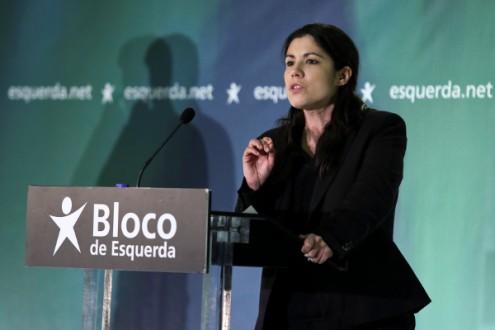 """""""É importante que esse produto [do crescimento económico] seja aplicado"""" em áreas como saúde e educação realçou Mariana Mortágua - Foto de Miguel A. Lopes/Lusa"""