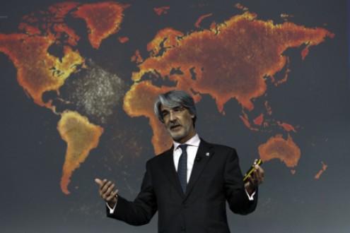 Presidente da PT/Meo Paulo Neves. Fotografia de Paulo Novais Agência Lusa.