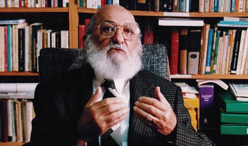 Paulo Freire - Foto reproduzida de Brasil247