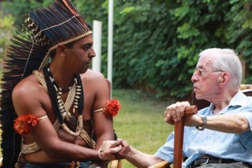 Pedro Casaldáliga foi sempre um grande defensor dos indígenas – Foto de vermelho.org.br