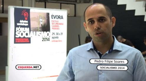 Pedro Filipe Soares: BES foi alvo de gestão danosa pela família que o detinha e objeto de um saque.