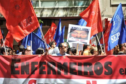 Enfermeiros podem paralisar seis dias em outubro e realizar manifestação - Foto de Paulete Matos (arquivo)