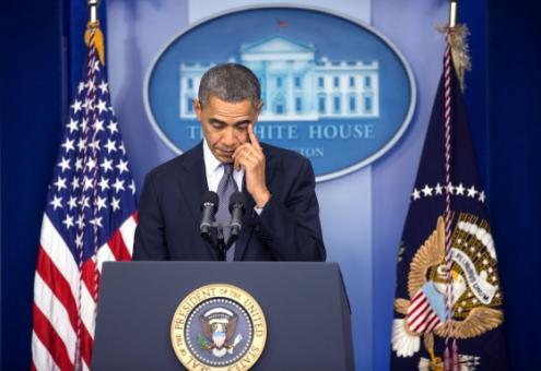 Os defensores da intervenção militar perguntam se a estratégia, sobretudo a promessa de Obama de não enviar forças de combate, será suficiente para alcançar os seus objetivos. Foto de Lawrence Jackson