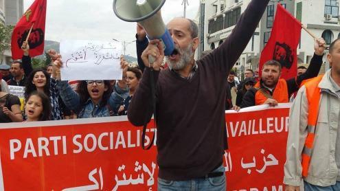 Para o PST, a hora é de auto-organização das massas populares argelinas