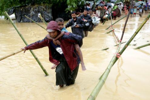 Myanmar promete ajuda humanitária aos 'rohingya'