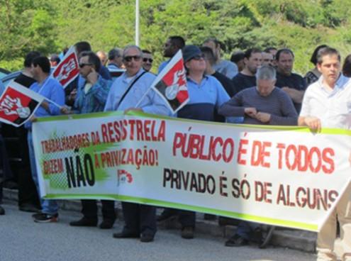 Trabalhadores da Resiestrela auferem os mais baixos salários das 11 empresas que compõem o grupo EGF
