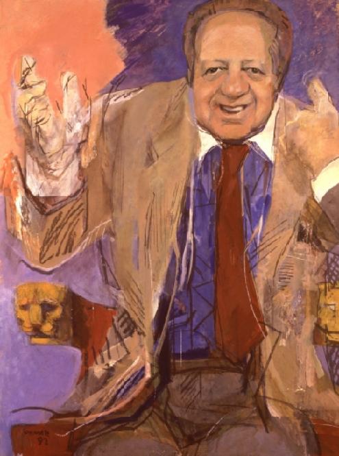 Retrato Oficial do Presidente Mário Soares por Júlio Pomar