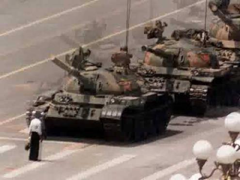 Momento mais simbólico da resistência ao massacre.
