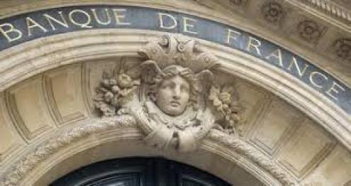 Banco de França. Imagem da instituição.