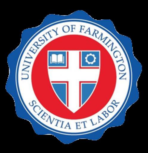 Logotipo da Universidade falsa criada pelos serviços de imigração norte-americanos.