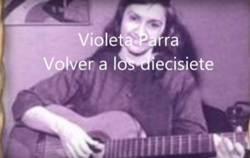 Dada a extensa produção artística de Violeta Parra apresentamos apenas albúns gravados em estúdio e editados em vida da autora