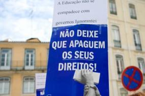 Os trabalhadores não docentes têm sido alvo das mais variadas derivas neoliberais dos governantes, cujo resultado final tem sido a sua desvalorização - Foto de Paulete Matos
