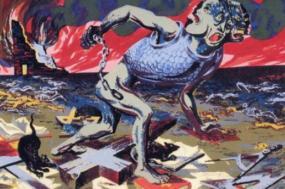 Imagem de Harry Sternberg, Fascismo (1943)
