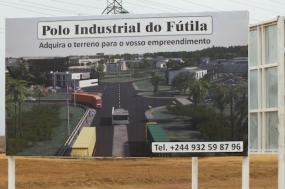 Parque Industrial da Fútila, Cabinda, Angola. Fotografia do site Maka Angola.