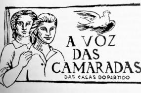 """Boletim """"A Voz das Camaradas"""", dirigido às camaradas mulheres das casas clandestinas do Partido. No final deste testemunho transcrevemos um excerto do livro de Margarida Tengarrinha """"Memórias de uma Falsificadora"""" sobre esta publicação."""