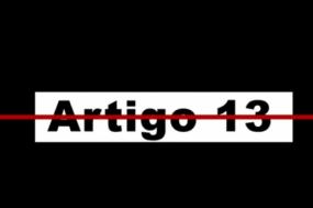 """Imagem da campanha """"Diz não ao Artigo 13""""."""