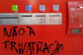 Não à privatização. Foto de Hugo Evangelista.