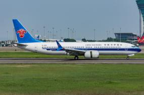 Boeing 737 Max 8 da China Southern Airlines. Foto de Kameeru/Flickr.