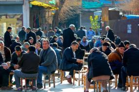 Cena de rua em Diyarbakir, Janeiro de 2011. Foto de Adam Reeder/Flickr