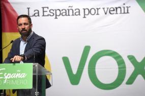 Santiago Abascal, líder do Vox.