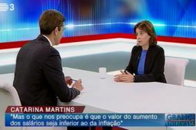 Entrevista na RTP3
